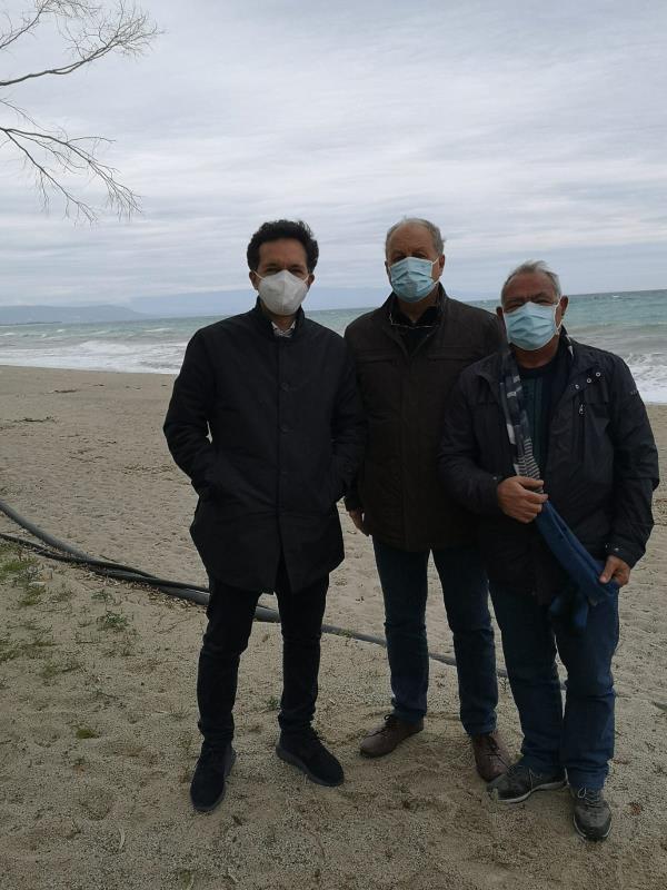 images Messa in sicurezza dei litorali di Sant'Andrea e Isca: Pitaro (Misto) scrive a Spirlì