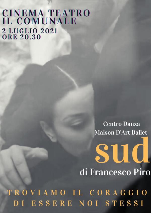 """images """"SUD – Il coraggio di essere se stessi"""". Questa sera al Comunale lo spettacolo del maestro Francesco Piro"""