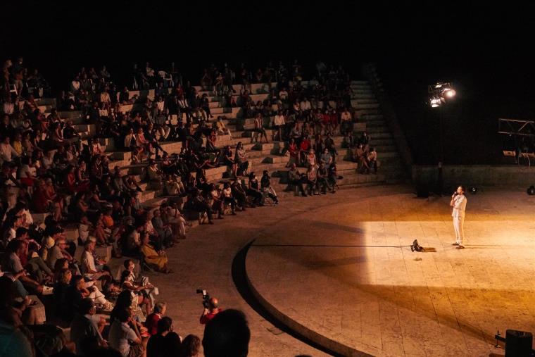 """images Ad """"Avvistamenti teatrali""""ultimo appuntamento con lo spettacolo vincitore di """"In box verde 2021"""""""