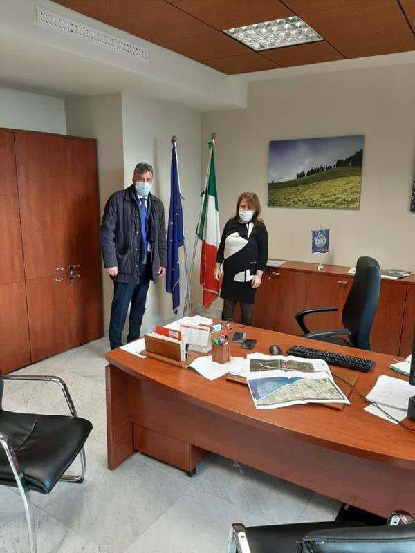 images Infrastrutture e sviluppo. Il sindaco di Sellia Marina incontra l'assessore Catalfamo