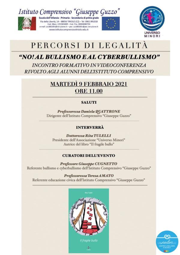 images Bullismo. Ieri convegno al Comprensivo di Tiriolo con la giurista Tulelli