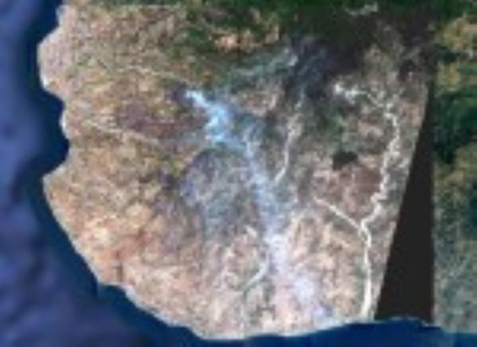 images Incendi, i roghi sull'Aspromonte visti dallo spazio con le immagini satellitari acquisite dall'Arpacal