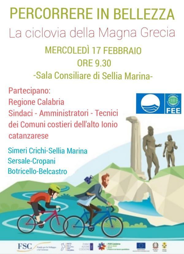 images Ciclovia della Magna Grecia, domani a Sellia Marina la presentazione del progetto