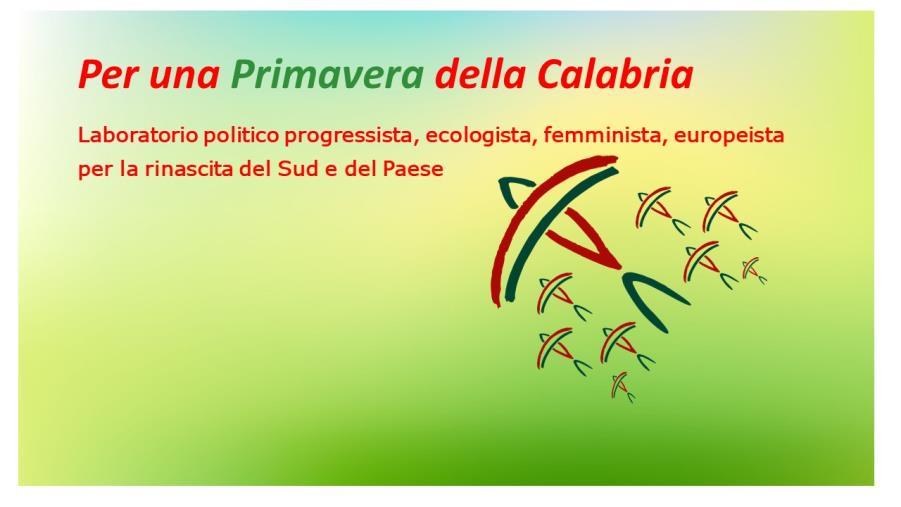 """images Regionali. Parte l'avventura """"Per una Primavera della Calabria"""" (I FIRMATARI)"""