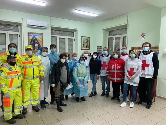 images  Botricello, conclusa la prima fase di vaccinazione anti-Covid alla popolazione over 80