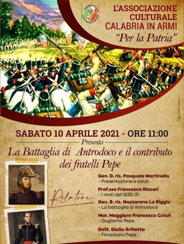 """L'Associazione Culturale """"Calabria in Armi"""" celebra i fratelli Pepe: """"Gli Eroi Calabresi di Squillace"""""""
