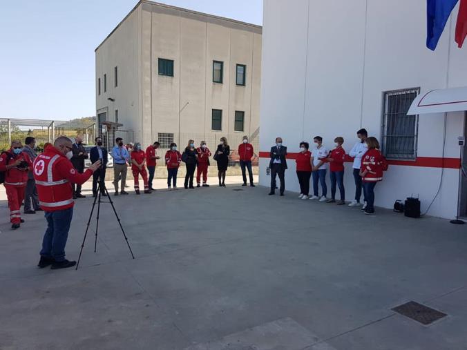 images Caraffa. Inaugurata la sede del Comitato Regionale della Croce Rossa Italiana