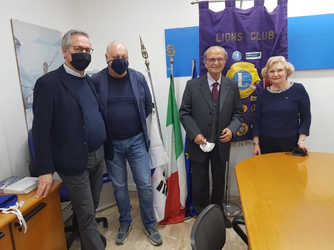 Sancito il patto d'amicizia tra il Lions Club Lamezia Terme ed il Lions Club Messina Host