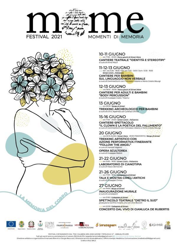 """images """"MoMe Festival"""", oggi a Simeri Mare il cantiere teatrale """"Identità e Stereotipi"""""""
