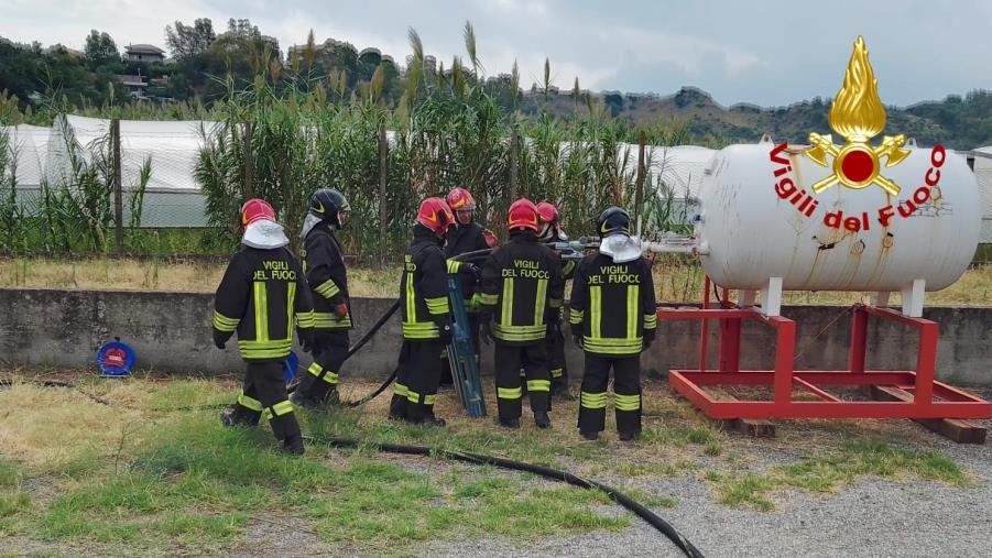 Il Comando vigili del fuoco di Catanzaro è tra le otto sedi in Italia specializzate in caso di esplosioni