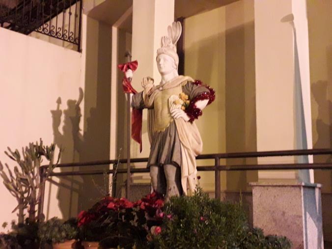 images Guardavalle, rimossa la statua donata dalla famiglia Gallace