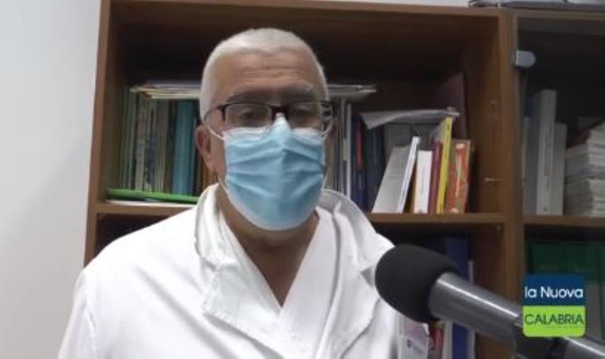 """images Il dott. Cosco: """"Contagi e ricoveri aumenteranno nei prossimi giorni. Pazienti da tutta la Calabria"""""""
