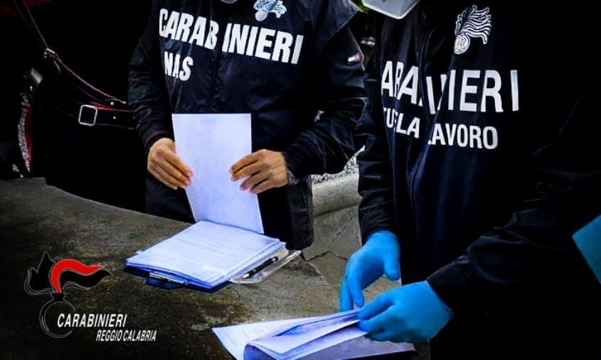 images Taurianova. Sicurezza alimentare e sui luoghi di lavoro: denunce, arresti e sanzioni amministrative