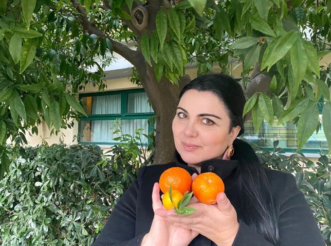 """images Catanzaro. Dona a 136 famiglie bisognose agrumi del suo terreno, l'appello di Elena Bitonte a """"chiunque voglia regalare i frutti dei propri alberi"""""""