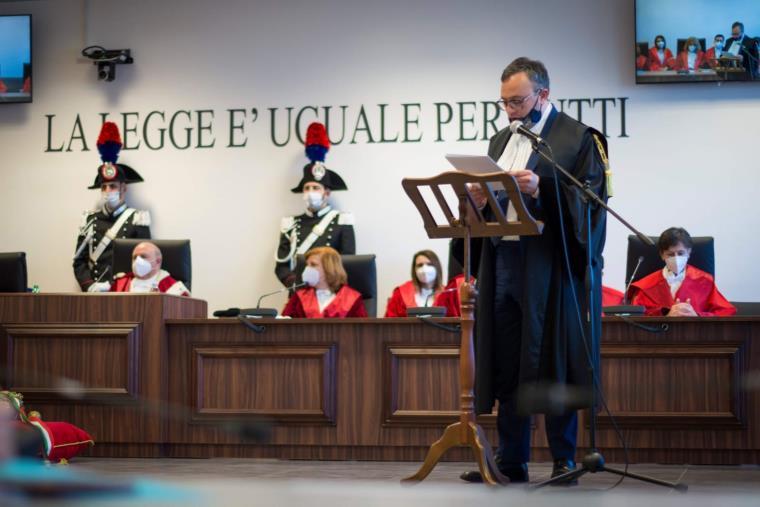 images Inaugurato nell'aula bunker di Lamezia Terme l'anno giudiziario