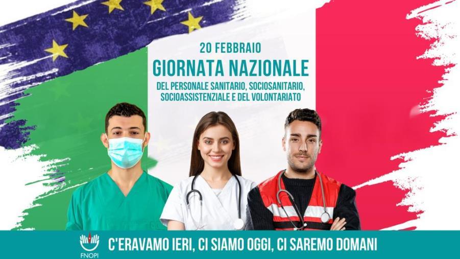 """images L'Opi Cosenza ricorda la """"Giornata nazionale dei professionisti sanitari, sociosanitari, socioassistenziali e del volontariato"""""""
