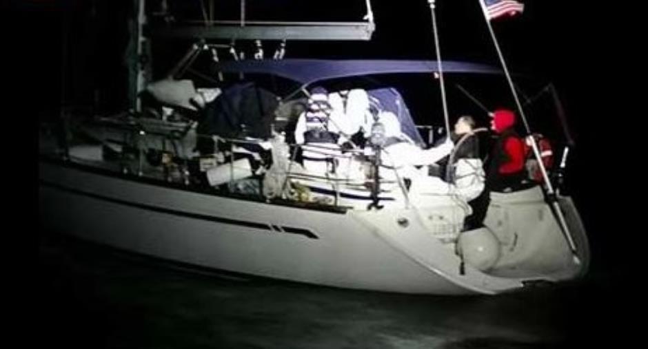 images Migranti. Sbarcano in 67 su una barca vela a poche miglia da Capo Rizzuto, fermati due presunti scafisti
