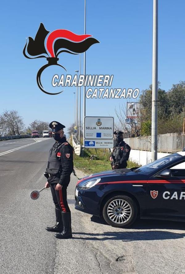 images Controlli anti covid-19. A Cropani i carabinieri interrompono una festa di compleanno: 11 soggetti sanzionati