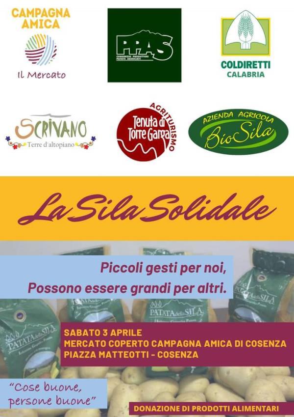 images Coldiretti Calabria. Sabato la solidarietà è di casa al mercato coperto di Campagna Amica di Cosenza