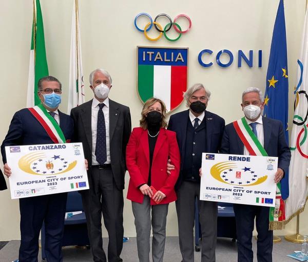 """images Vono (Iv): """"La candidatura di Catanzaro e Rende come città europee dello Sport è un segnale importante per tutto il sud"""""""