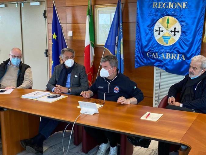 """images Unità di Crisi, Spirlì: """"La vaccinazione in Calabria sta prendendo il ritmo giusto"""""""