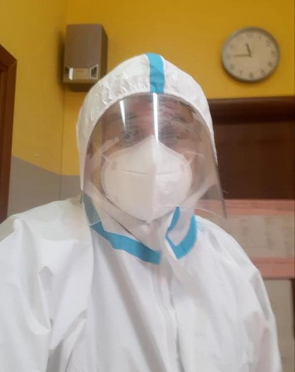 """images Sellia. Davide Zicchinella: """"Sto svolgendo il ruolo di vaccinatore volontario, da altri solo chiacchiere"""""""