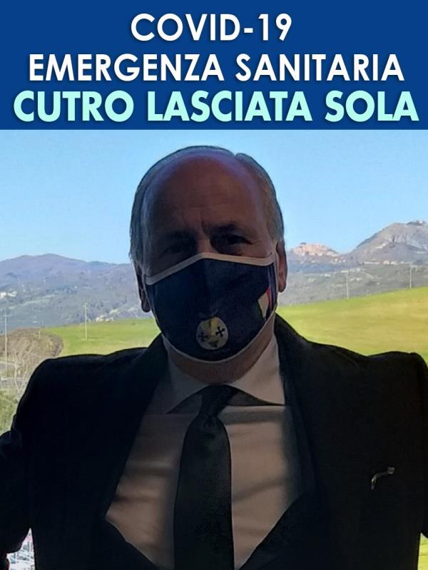 """images Emergenza Covid a Cutro. Lerose (Forza Italia) scrive a Sperlì e Spirlì: """"Urgenti i vaccini per gli over 30"""""""