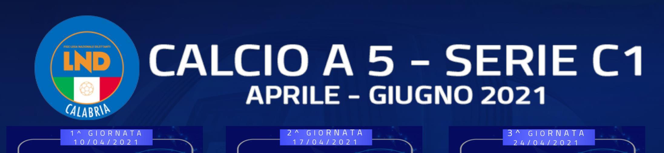 images Calcio A 5 Serie C. Gare, arbitri, classifica e marcatori della quarta giornata