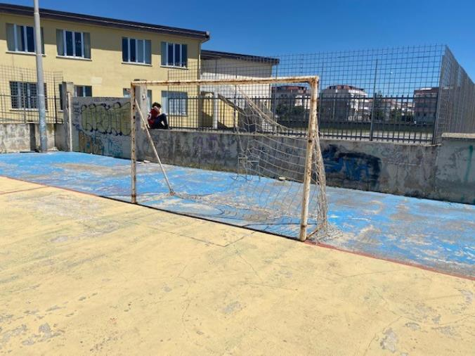 """images Catanzaro. Stefano Veraldi: """"Quelle brutte sorprese nelle periferie come i campetti di calcio abbandonati al degrado"""""""