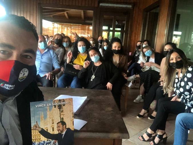 """images Continuano gli incontri della Lega sul territorio. Calabretta a Cirò Marina: """"Respiriamo energie e stimoli"""""""