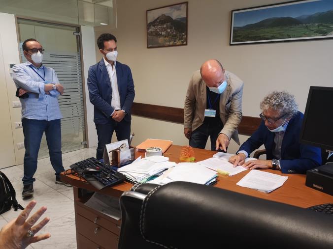 """images Sanità. Francesco Pitaro incontra il dg del Dipartimento Salute: """"Modificare l'Accordo integrativo per erogare l'indennità ai medici 118"""""""