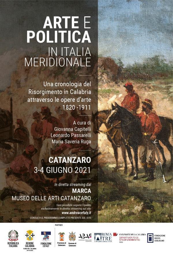"""images Catanzaro. """"Arte e Politica al Sud"""": il confronto il 3 e 4 giugno al Museo Marca"""