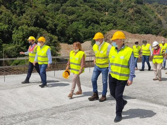 """images Infrastrutture. Gallico-Gambarie, Catalfamo annuncia: """"Fine lavori entro giugno 2022"""""""
