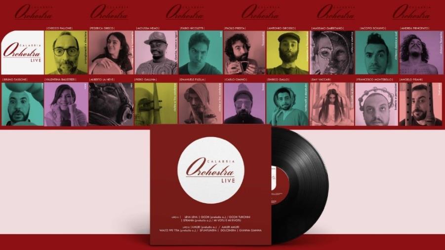 """images Musica. """"Calabria Orchestra"""" debutta con 7 brani intrisi di tradizione, tra sonorità africane e arabe, jazz, rock, tarantelle"""