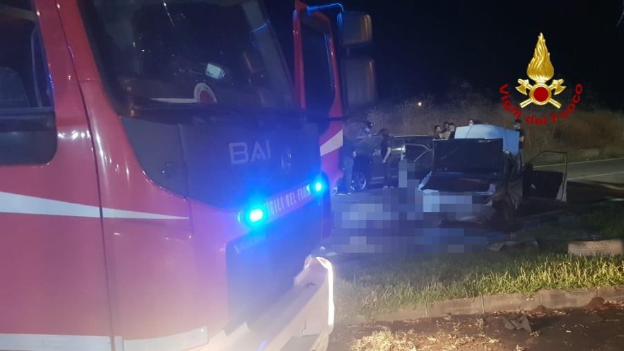 images Incidente mortale a Santa Caterina: tre auto coinvolte
