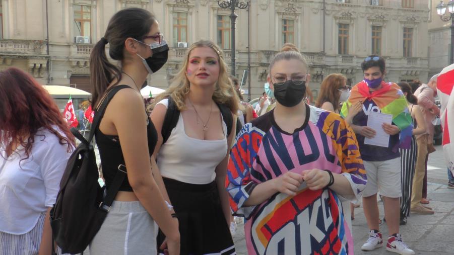 images #Catanzaro non discrimina, la manifestazione in favore del Ddl Zan