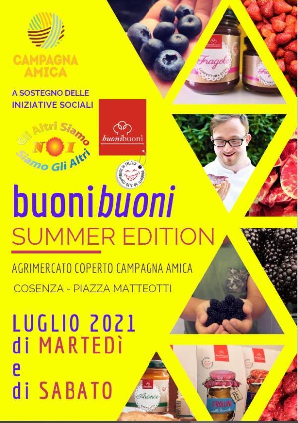 """images Coldiretti Calabria: da domani a Cosenza al via l'iniziativa """"buonibuoni Summer Edition"""""""