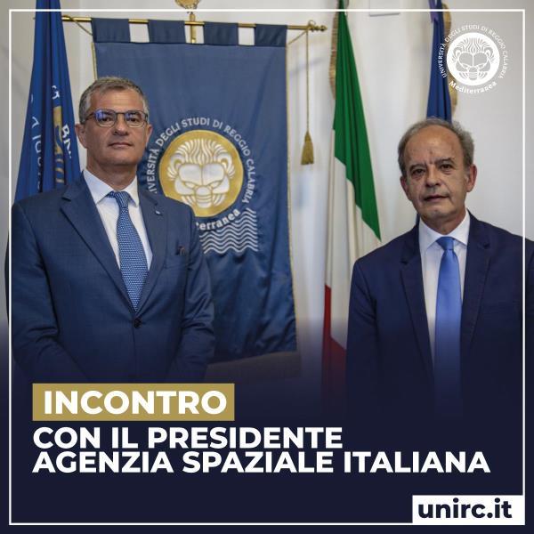 images All'Università di Reggio webinar con il Presidente dell'Agenzia Spaziale Italiana: presentati i risultati dell'ISF 2019