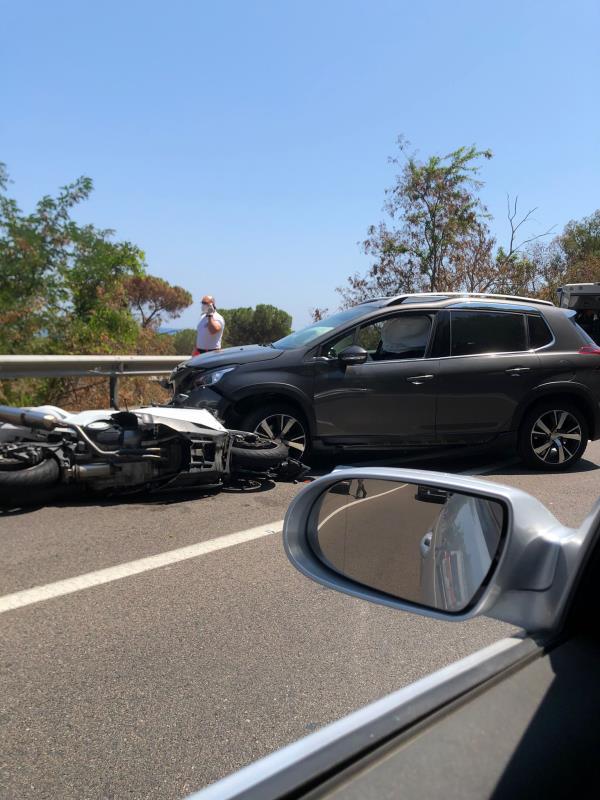 images Tragedia a Copanello. Muore centauro dopo un incidente con un'auto