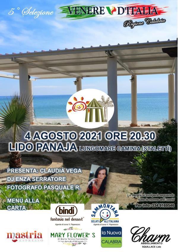 images Venere d'Italia 2021. Tappa a Caminia di Stalettì