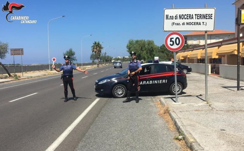images Da Lamezia a Sellia Marina, il bilancio dei controlli di Ferragosto dei carabinieri