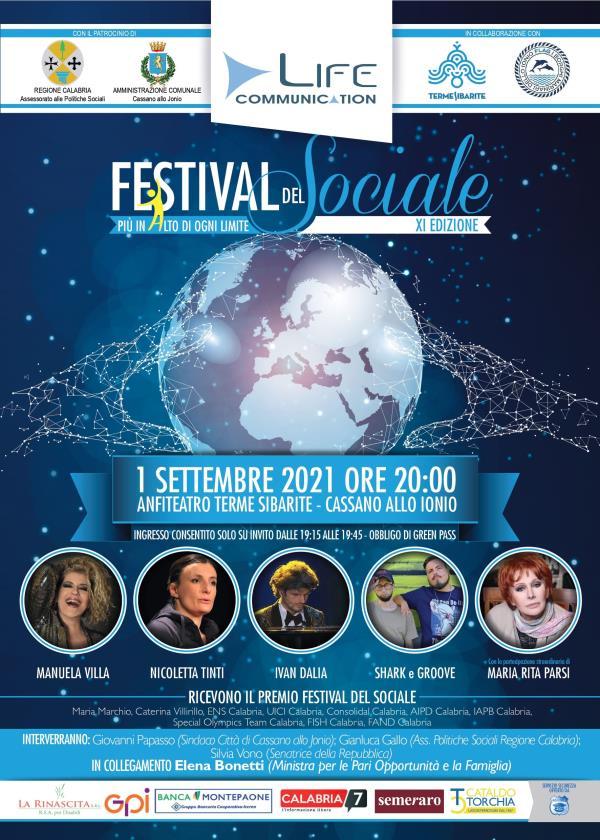 images Cassano allo Ionio. Torna il Festival del Sociale alle Terme Sibarite