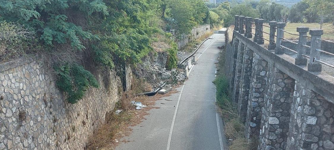 images SP 168/1 chiusa da 7 mesi. Il sindaco di Marcellinara scrive a Provincia e Prefettura di Catanzaro