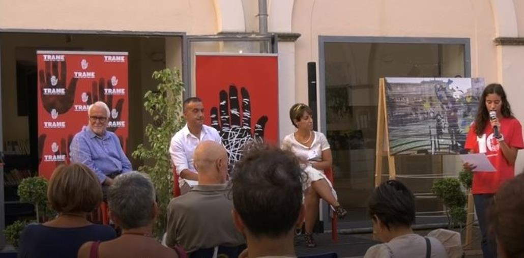 images Trame Festival: sold out per la seconda giornata con autori e personaggi anti 'ndrangheta