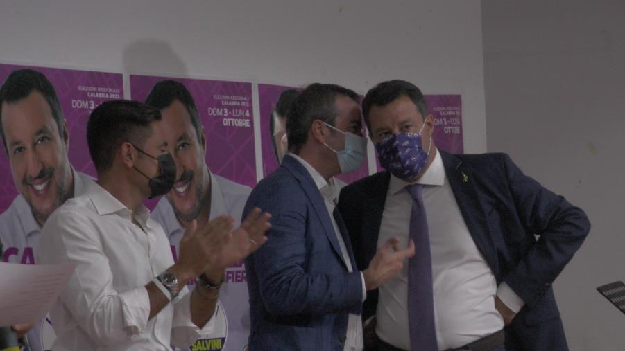 """images Regionali. Salvini: """"Obiettivo Lega primo partito del centrodestra"""""""