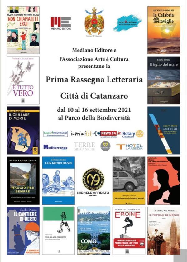 images Parte oggi la prima Rassegna Letteraria Città di Catanzaro, un pomeriggio per entrare da protagonisti nel cuore della cultura
