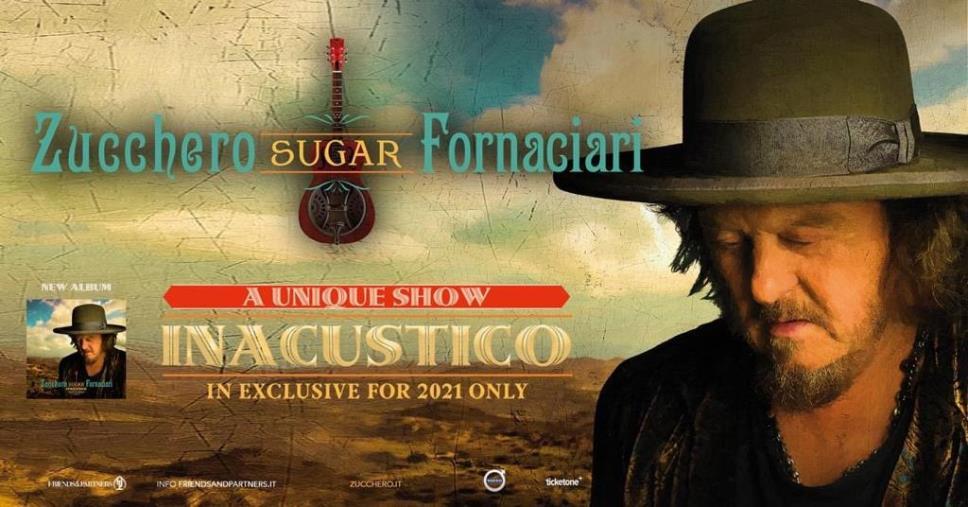 images Roccella Summer Festival. Grande attesa per il concerto di Zucchero il 22 settembre al Teatro al Castello