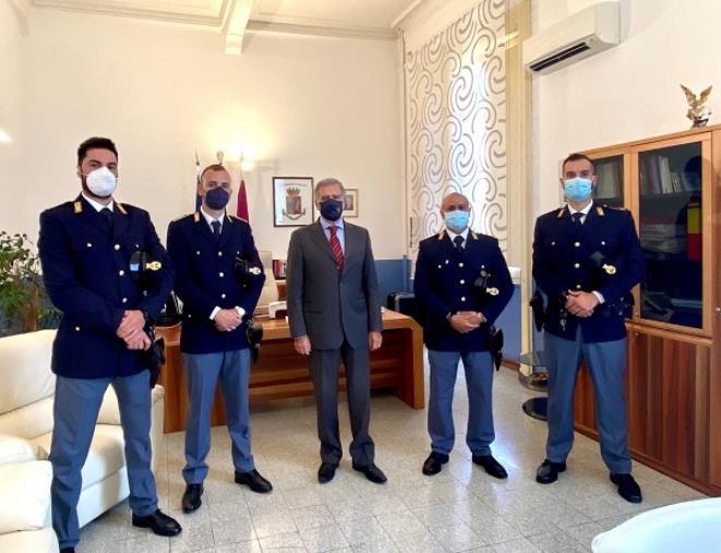 Assegnati 12 nuovi agenti della Polizia di Stato alla Questura di Catanzaro