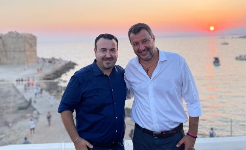 Regionali. Matteo Salvini torna in Calabria: domani a Cutro e a Cirò Marina