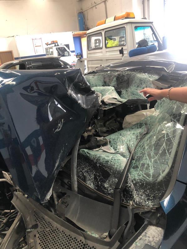 """images L'odissea di un professionista catanzarese: """"Miracolato dopo un incidente, ma oltre 5 ore per essere curato"""""""